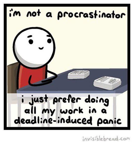 6ce07f3a602c3c527a8814b5752a2a73--procrastination-quotes-work-humor